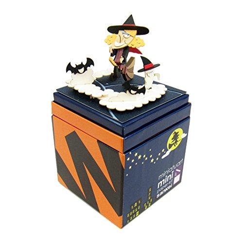 Miniature Art Halloween Witch Paper Craft