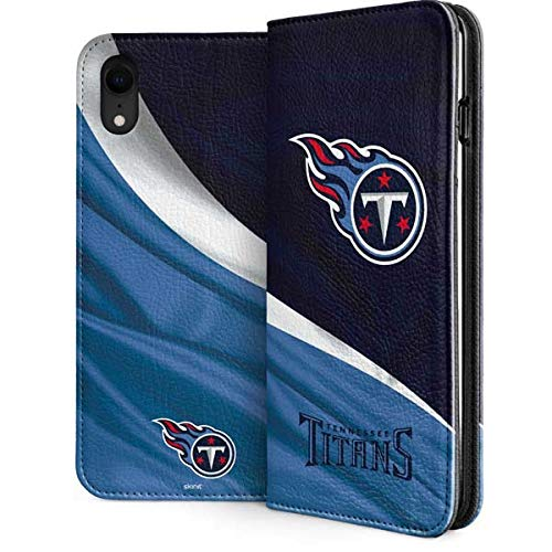 6146bd2e Amazon.com: Tennessee Titans iPhone XR Folio Case - NFL | Skinit ...