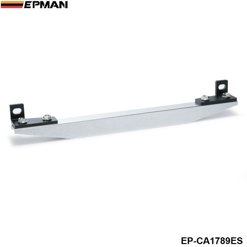 EPMAN Subframe Lower Tie Bar Es Rear With Epman Sticker Fit For Civic Ep Integra Dc5 Civic Coupe Em2 ES Silver