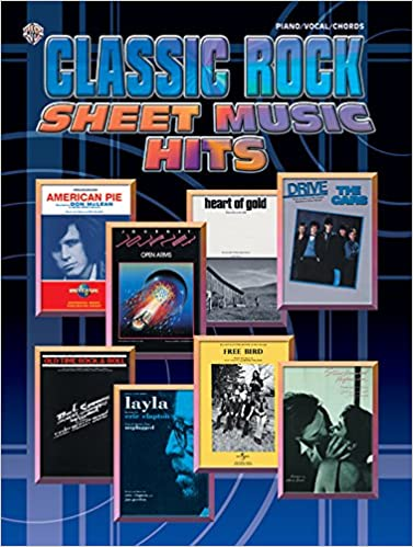 Classic Rock Sheet Music Hits: Piano/Vocal/Chords: Alfred Music ...