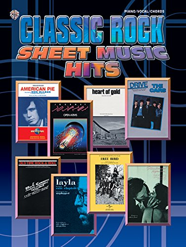 Classic Rock Sheet Music Hits Piano/Vocal/Chords (Tapa Blanda)
