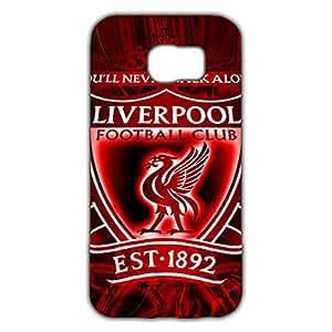 Fashion Design FC Livepool Football Club Phone Case Cover For Samsung Galaxy S6 3D Plastic Phone Case