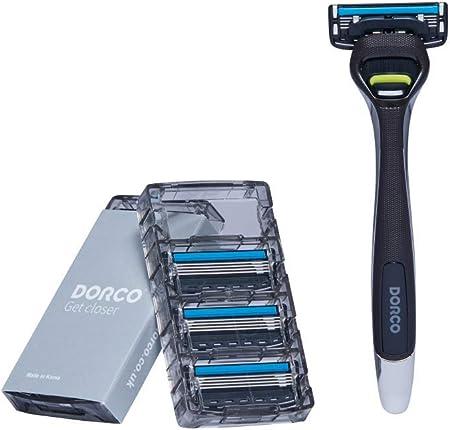 Maquinilla de afeitar Dorco Pace 4 Pro para hombres (8 cuchillas + 1 manija): Amazon.es: Salud y cuidado personal