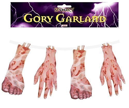 Garland Gory for Halloween Decorations - Size: 180cm Henbrandt