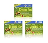 Trace Minerals Research PGG02 - Greens Pak, 30 Packets (Berry) (3 Pack)