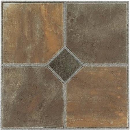 Ftvgm32645 Tivoli Rustic Slate 12x12 Self Adhesive Vinyl Floor Tile 45 Tiles 45 Sq Ft For