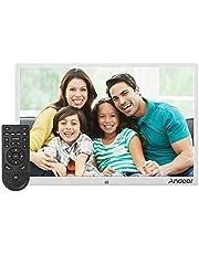 إطار صورة رقمي 15.4 بوصة LED 1280 * 800 دعم دقة 1080 بكسل فيديو عشوائي من سبيكة الألومنيوم مع جهاز التحكم عن بعد هدية عيد الميلاد UK Plug LMZHONORALLD4850S-UKSA