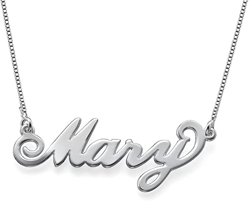 Personalized Name Necklace in 925