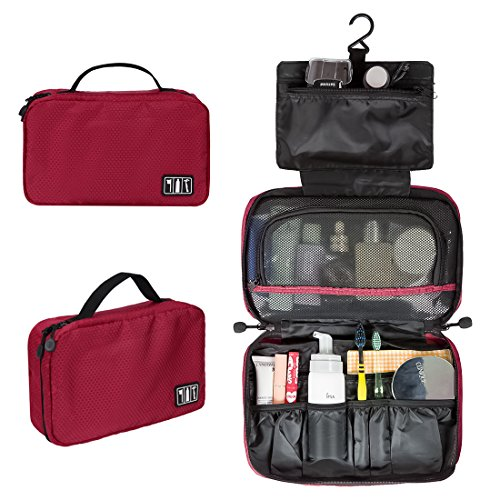 BAGSMART Extra Capacity Borse da Biaggio da Toilette / Rasatura Bag/Beauty-case