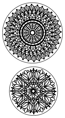 Inkadinkado Lace Doilies Cling Stamp