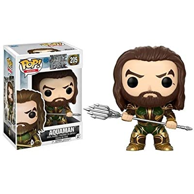 Funko POP! Movies: DC Justice League – Aquaman Toy Figure: Funko Pop! Movies:: Toys & Games