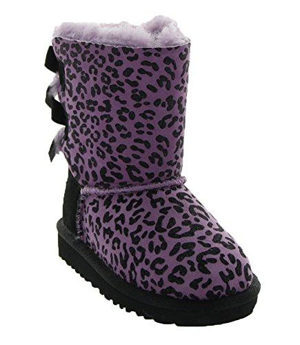 UGG Kids Girl's Bailey Bow Rosette (Toddler/Little Kid) Lavender Boot 6 Toddler M