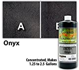 Concrete Stain Concentrate Just Add Water, User & Eco-Friendly Semi-Transparent Professional Grade Cement Stain, Concrete Resurrection Brand (32 ounce, Onyx)