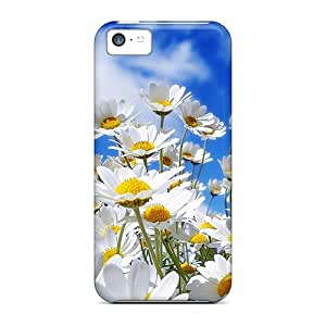 Snap-on Case Designed For Iphone 5c- Flower