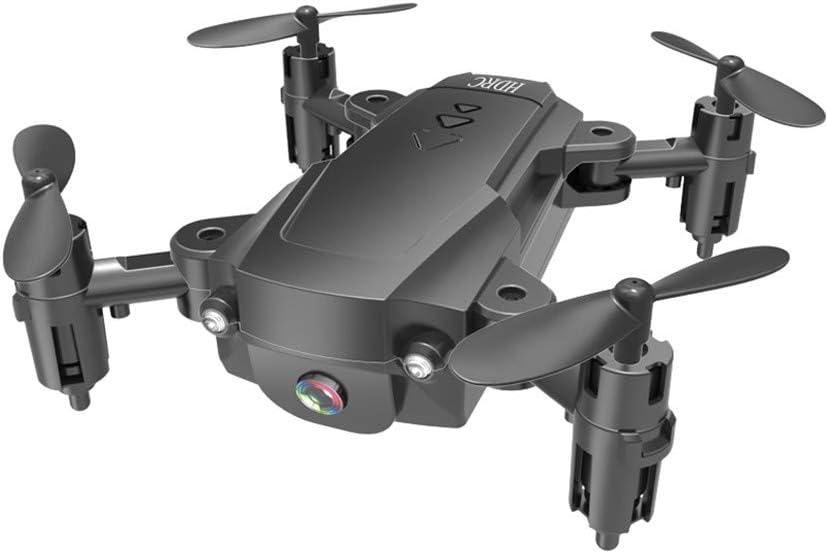 TwoCC Drone,Hdrc H16 2.4G 4K Hd Cámara Wifi Fpv Versión Aérea Aeronave De Cuatro Ejes Altitude Hold Plegable Pocket Selfie Drone(Negro): Amazon.es: Bricolaje y herramientas