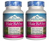 Ridgecrest Herbals Hair Revive Natural Defense – 120 Capsules, 2 pack (image may vary)