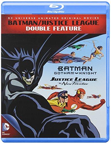 Batman / Justice League Double Feature (Justice League New Frontier + Batman Gotham Knight) (Blu-ray)