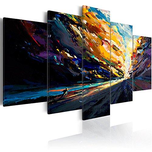 excellent impression sur toile x cm top pieces image sur toile images with tableau abstrait xxl. Black Bedroom Furniture Sets. Home Design Ideas
