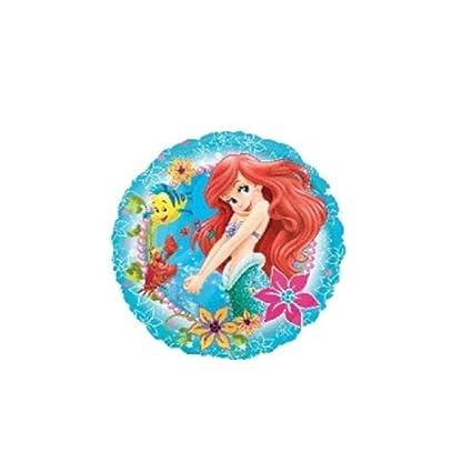 """Amazon.com: Ariel la Sirenita 18"""" Anagram globo fiesta ..."""