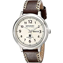Sperry Top-Sider Men's 10018686 Largo Analog Display Japanese Quartz Brown Watch