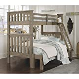 NE Kids Highlands Harper Twin Over Full Bunk Bed in Driftwood Review