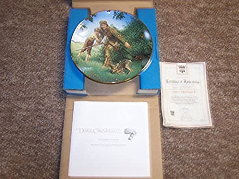 The Bradford Exchange American Folk Heroes Davy Crockett Second Issue In A Series Decorative Plate - Issue Collectors Plate