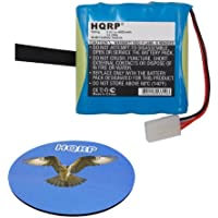 HQRP Battery for TRIMBLE Ranger TSCe TDS GIS Data Collector H-075-335-200R-032 A075-2003 A0752003 HR4/3AU-F4C HR43AU-F4C HR43AUF4C XHR-4/3AUX XHR-43AUX XHR43AUX + HQRP Coaster