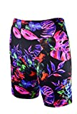 Sookie Active Athletic Shorts (Ladies 3X-Large) Infrared Tropics