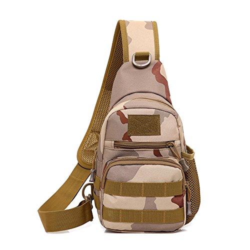 Pack Jeffrey color Moda Aire Sling Trekking Al Mochila Paquete Deportiva Camouflage Godwin Para La Cofre Camping Bolso Caza Camouflage De Rover Desert Libre qSrnatS
