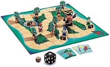 Djeco - Juego de Miniatura (DJ08423) (versión en francés)- Juegos de acción y reflejosJuegos educativosDJECOJuego Big Pirate, Multicolor (15): Amazon.es: Juguetes y juegos