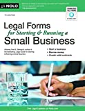 img - for Legal Forms for Starting & Running a Small Business by Fred Steingold J.D. (2012-03-21) book / textbook / text book