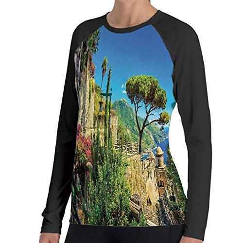 LIFEDZYLJHGO Printed Mens Sleeve Long Casual Printed Loose Fit T-Shirt Customization -