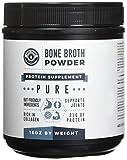 Bone Broth Protein Powder 16oz, 100% Pure Grass Fed Beef - Unflavored, Paleo Friendly, Gut-Friendly, Non-GMO, Dairy-Free Protein Powder. Rich in Collagen, Glucosamine & Gelatin, Left Coast Performance