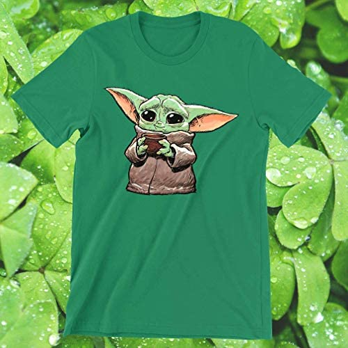 Galaxyngo Horror Chibi Characters Yoda Baby Coffee Gift For Her T Shirt For Womens Mens