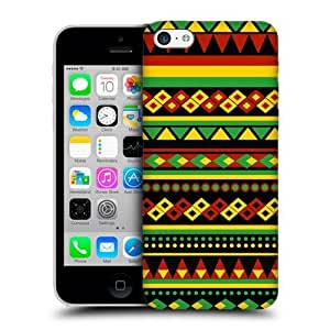Head Case Designs Aztec Rasta Colour Patterns Hard Back Case Cover For Apple iPhone 5c