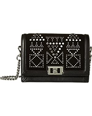 Womens Dylan Small Crossbody w/Studs