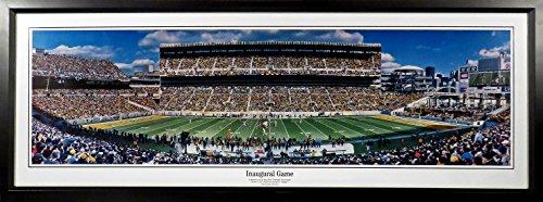 Inaugural Game Framed - Pittsburgh Steelers Heinz Field Inaugural Game Panoramic Framed
