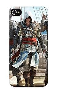 New Assassins Creed Iv - Black Flag Tpu Case Cover, Anti-scratch TTVRDj-1297-ESakZ Phone Case For Iphone 6 4.7 With Design