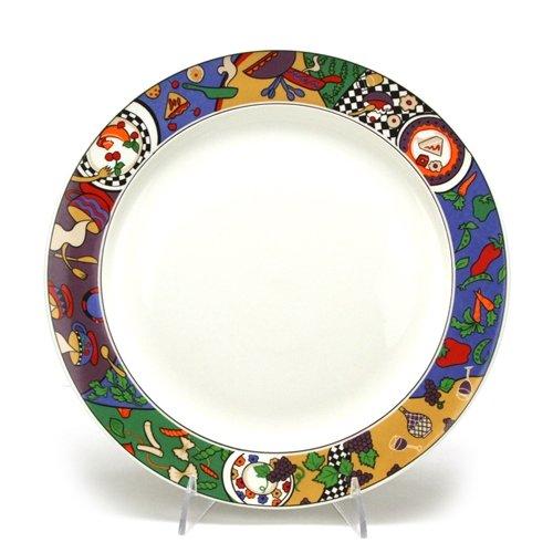 (Cuisine by Sakura, Stoneware Dinner Plate)