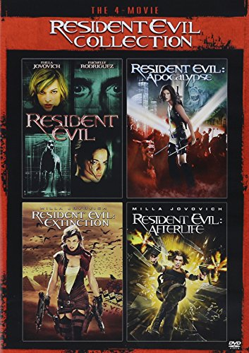 The 4-Movie Resident Evil Collection (Resident Evil/Resident Evil:Apocalypse/Resident Evil:Extinction/Resident Evil:Afterlife)