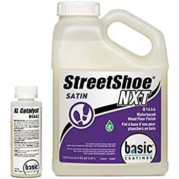 Basic Coatings STREETSHOE® Waterbased Wood Floor Finish Satin 1 Gallon