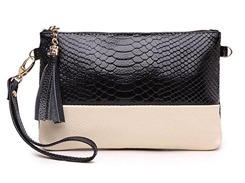 ZENTEII Women Genuine Leather Mini Clutch Shoulder Bag (Clutch Purse)