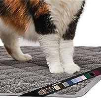 Gorilla Grip Original Premium Durable Cat Litter Mat, Traps Litter from Box and Cats, Scatter Control, Mats Soft on Kitty...