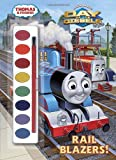 img - for Rail Blazers! (Thomas & Friends) (Paint Box Book) book / textbook / text book