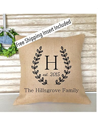 monogrammed-laurel-wreath-wedding-anniversary-burlap-with-established-date-pillow-insert-included-fr