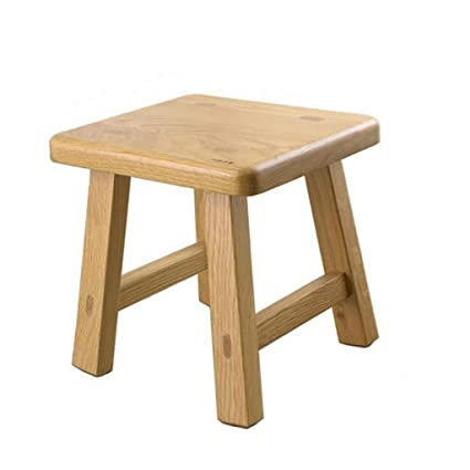 LQQGXL European Chair Small Bench Solid Wood Stool Low Stool Coffee Table  Laundry Bench Change Shoes