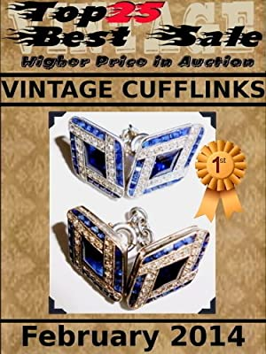 Top25 Best Sale - Higher Price in Auction - Vintage Cufflinks - February 2014
