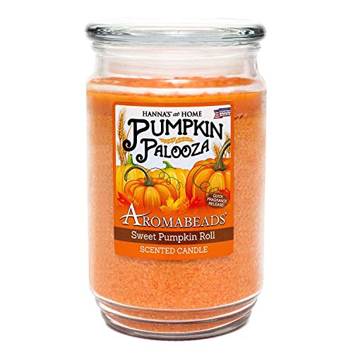 Aromabeads Sweet Pumpkin Roll Scented Candle ()