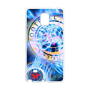 Shiny blue football club Cell Phone Case for Samsung Galaxy Note4