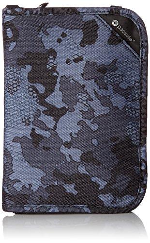Pacsafe Rfidsafe V150 Anti-Theft RFID Blocking Compact Passport Wallet, Grey (Best Pacsafe Amazon Rfid Wallets)